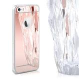 Spiegel Hülle iPhone SE / 5 / 5S Rosa