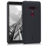 TPU Silikon Case Hülle HTC U12+ Schwarz