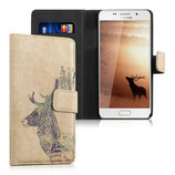 Wallet Case Samsung Galaxy A5 2016 Hirsch