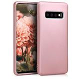 TPU Case Hülle Samsung Galaxy S10 Rosegold