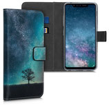 Wallet Case Hülle LG G8s ThinQ Galaxie