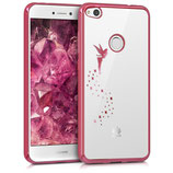 Crystal Case Huawei P8 Lite 2017 Fee Pink