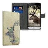 Wallet Case Hülle LG G5 Hirsch