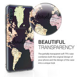 TPU Case Samsung Galaxy A50 Travel