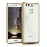 Crystal Case Hülle Huawei P9 Fee Gold