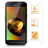 2x Panzerglas Displayfolie Samsung Galaxy Xcover 4
