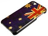 RETRO AUSTRALIEN CASE FÜR APPLE IPHONE 5 FLAGGE SCHUTZ HÜLLE