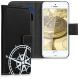 Wallet Case Apple iPhone SE/5/5S Kompass