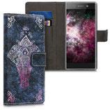 Wallet Case Sony Xperia XA1 Elefant