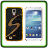 HARD CASE F. SAMSUNG GALAXY S4 I9500 COVER SCHWARZ GOLD