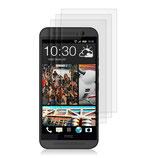 3x Displayschutzfolie HTC One M9 Matt
