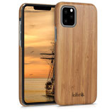 Holz Hülle Apple iPhone 11 Pro Hellbraun