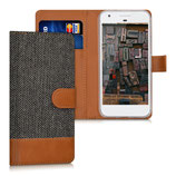 Wallet Case Google Pixel Canvas Braun