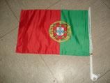 Autofahne Portugal EM 2016 Fussball
