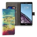 Wallet Ledertasche Here Comes LG G4