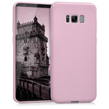 TPU Silikon Case Samsung Galaxy S8+ Rose matt