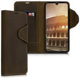 Wallet Case Samsung Galaxy A40 Echtleder Braun