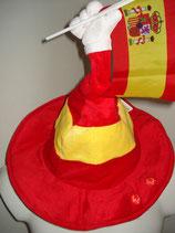 Spanien-Hut mit Sound beweglich EM 2016