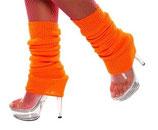 Sexy Stulpen orange Strümpfe Beinwärmer