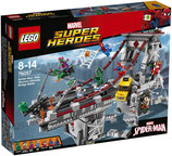 Lego 76057 Marvel Spider Man Ultimatives Brückenduell