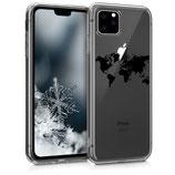 Case Hülle Apple iPhone 11 Pro Max Weltkarte