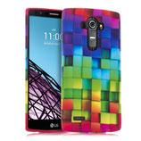 TPU Silikon Case Cover Regenbogen LG G4