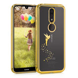 TPU Case Hülle Nokia 4.2 Fee Gold