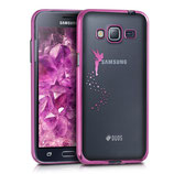 Crystal Case Samsung Galaxy J3 2016 Fee Pink