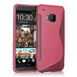 TPU Case Cover HTC One M9 Pink