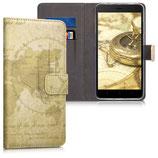 Wallet Case Xiaomi Redmi Note 4 4X Weltkarte