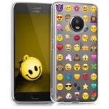 TPU Case Motorola Moto G5 Plus Emoji