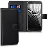 Wallet Case Motorola Moto G5 Plus Schwarz