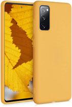 TPU Case Samsung Galaxy S20 FE Honiggelb