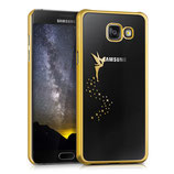 Crystal Case Samsung Galaxy A5 2016 Fee Gold