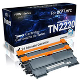 2x Toner Schwarz Brother TN2220 TN2010