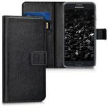 Wallet Case Samsung Galaxy J5 2017 Schwarz
