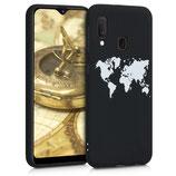 TPU Case Samsung Galaxy A20e Weltkarte