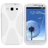 Silikon Case Tasche Samsung Galaxy S3 i9300 Weiss