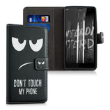 Wallet Case Hülle Wiko Robby Dont Touch