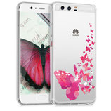 TPU Case Hülle Huawei P10 Schmetterling