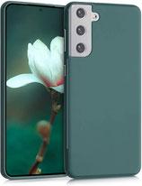 TPU Case Samsung Galaxy S21 Plus Blaugrün
