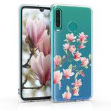 TPU Case Hülle Huawei P30 Lite Magnolien