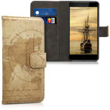 Wallet Case Xiaomi Redmi 4X Weltkarte