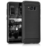 TPU Case Samsung Galaxy S8 Brushed Carbon