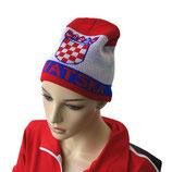 Wollmütze Mützeski Kroatien WM 2014