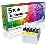 5x Tintenpatronen Epson T1291