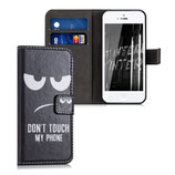 Wallet Case Apple iPhone SE / 5 / 5S Dont touch