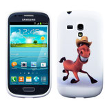 Case Pferd Design Samsung Galaxy S3 Mini