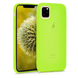 TPU Case Hülle Apple iPhone 11 Neon Gelb