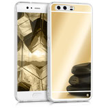 Spiegel Hülle Case Huawei P10 Gold